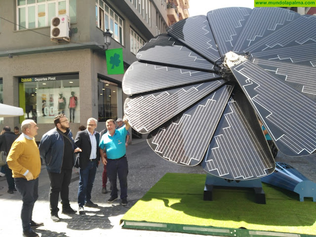 El Ayuntamiento valora las acciones de concienciación del Evento de Electromovilidad Urbana celebrado en Santa Cruz de La Palma