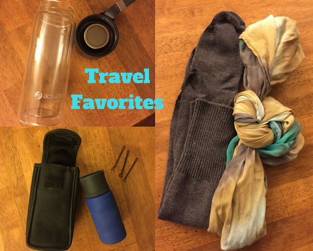 Favorite items to bring when I travel
