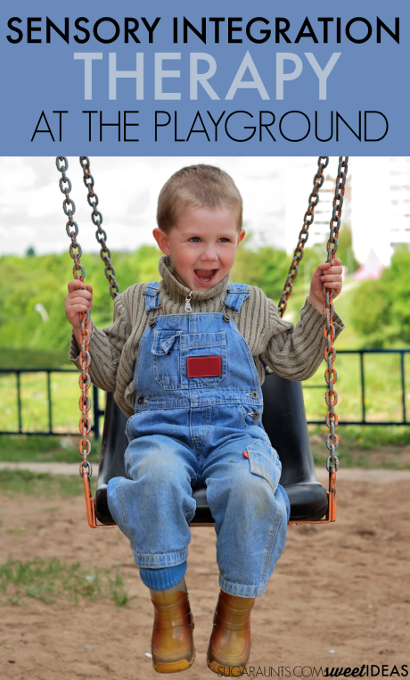 Sensory integration therapy at the playground