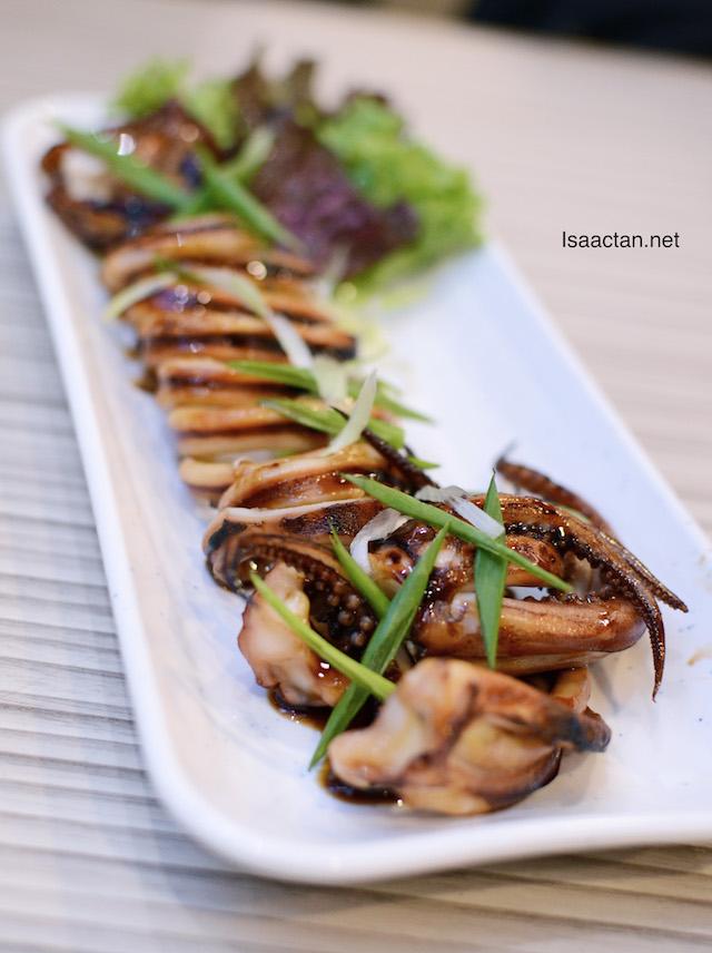Surume Ika Teriyaki (grilled squid) - RM12.90