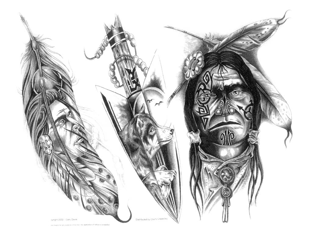 native american tattoo designs for women