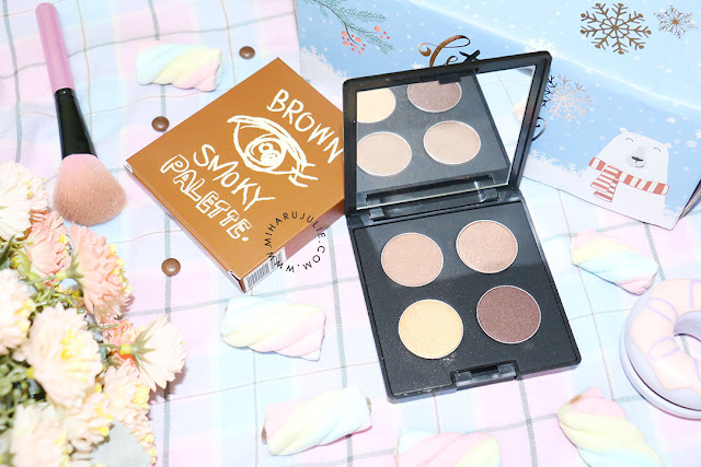 Brown Smoky Eye Shadow Palette