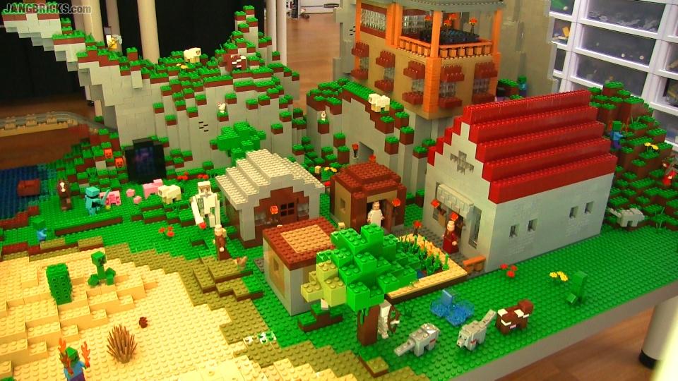 LEGO Minecraft custom layout update Aug  28, 2015!