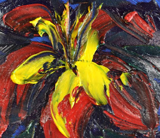 http://www.ebay.com/itm/Tropical-Bloom-Impasto-Oil-Painting-Paper-Contemporary-Artist-France-2000-Now-/291764661744?ssPageName=STRK:MESE:IT