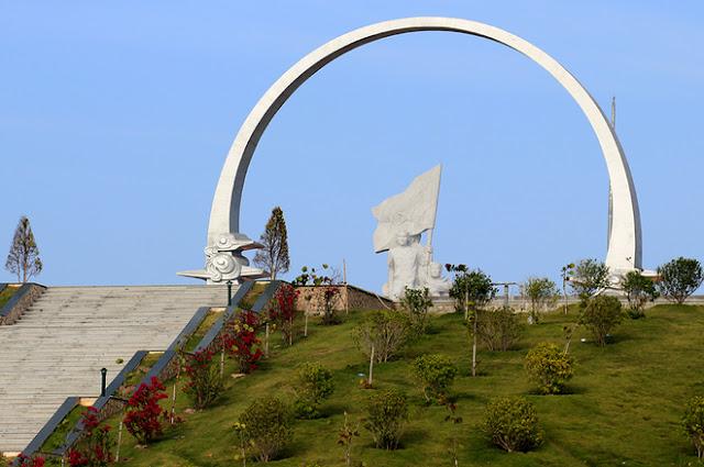 Khu tưởng niệm chiến sĩ Gạc Ma sắp hoàn thành