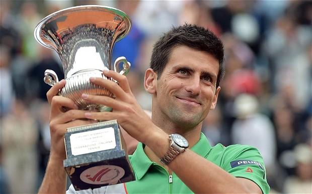 Nike prepara su gran golpe en el tenis: fichar a Djokovic