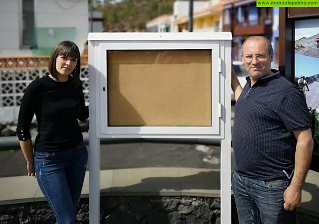 El Ayuntamiento de Fuencaliente colooca 5 paneles informativos