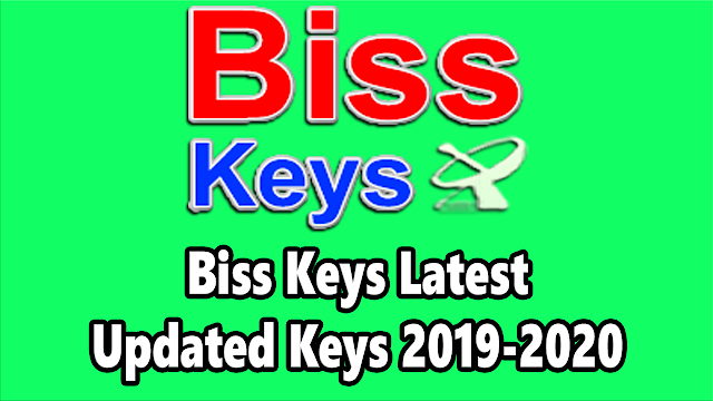 Biss Keys Latest Updated Keys 2019-2020