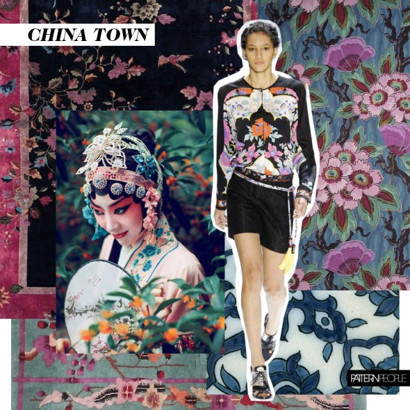 Top Garden Trends For 2017: TRENDS // PATTERN PEOPLE . CHINA TOWN - SS 2017
