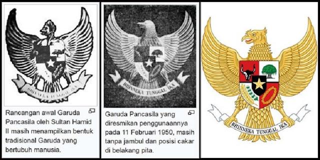 sejarah lambang negara indonesia
