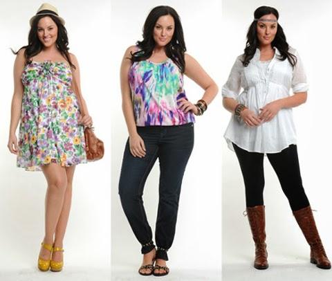 baju atasan modern wanita gemuk