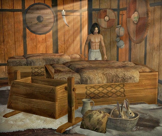The Medieval Smithy Sims 2 Celtic Bedroom