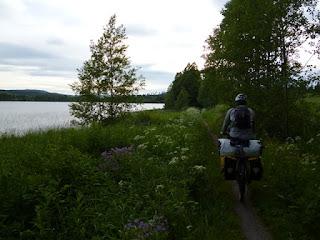 Orilla del lago Torpsjön