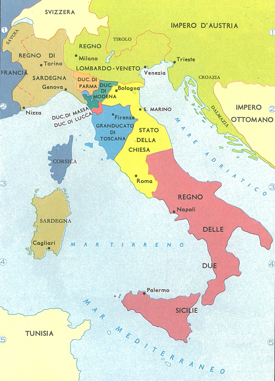 Pz C Cartina Italia