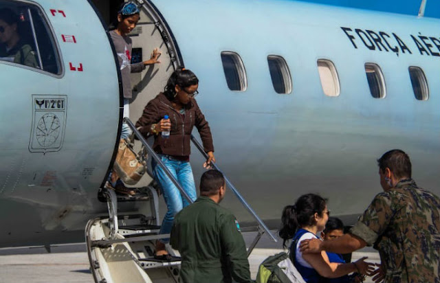 Pernambuco recebe mais três imigrantes venezuelanos