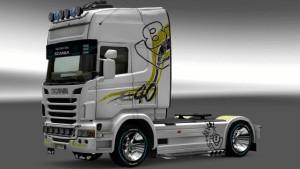 Scania R DS v1 skin mod