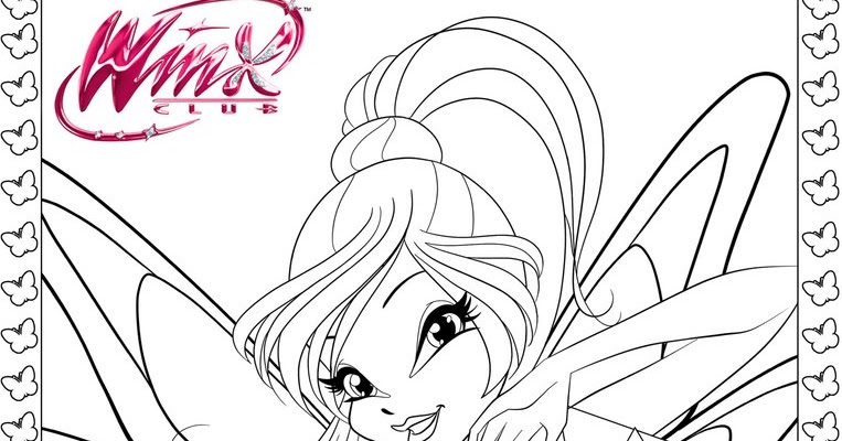 winx club tynix coloring pages - photo#22