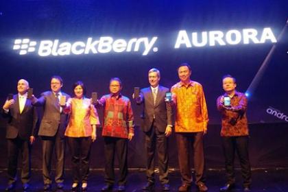 BlackBerry Aurora Resmi Diluncurkan Untuk Masyarakat Indonesia