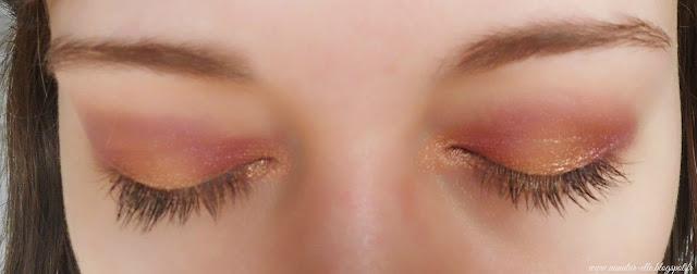maquillage bordeaux yeux