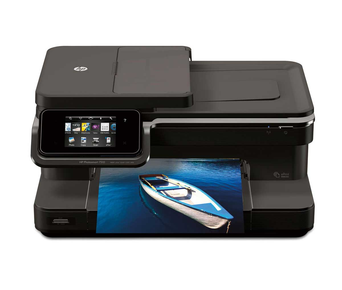 AirPrint Printers: HP Photosmart 7510 All-in-One with eFax ...