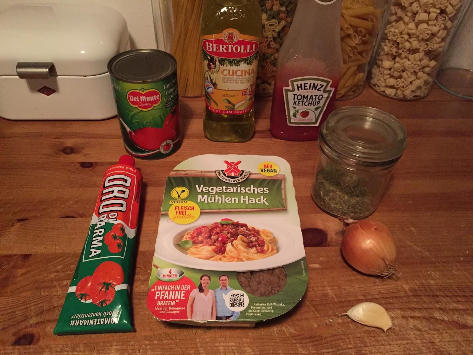 spaghetti gerichte vegetarisch