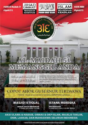 Inul Hina Ulama, Aksi 313 Al Maidah Memanggil Semakin Temukan Momentumnya