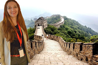 Nu-i asa ca par sa fi vizitat Marele Zid Chinezesc?