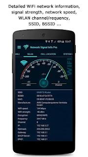 تحميل برنامج network signal info pro النسخه المدفوعه مجانا