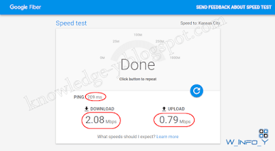 كيفية معرفة سرعة الانترنت بدون برامج