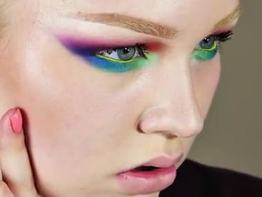 Spring Rainbow Makeup Tutorial