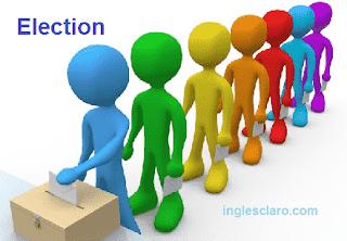 como dizer eleição em inglês
