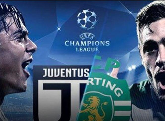 Dove Vedere JUVENTUS-SPORTING Streaming Video (senza Rojadirecta) e Diretta Online Gratis Champions League Oggi 18 ottobre 2017