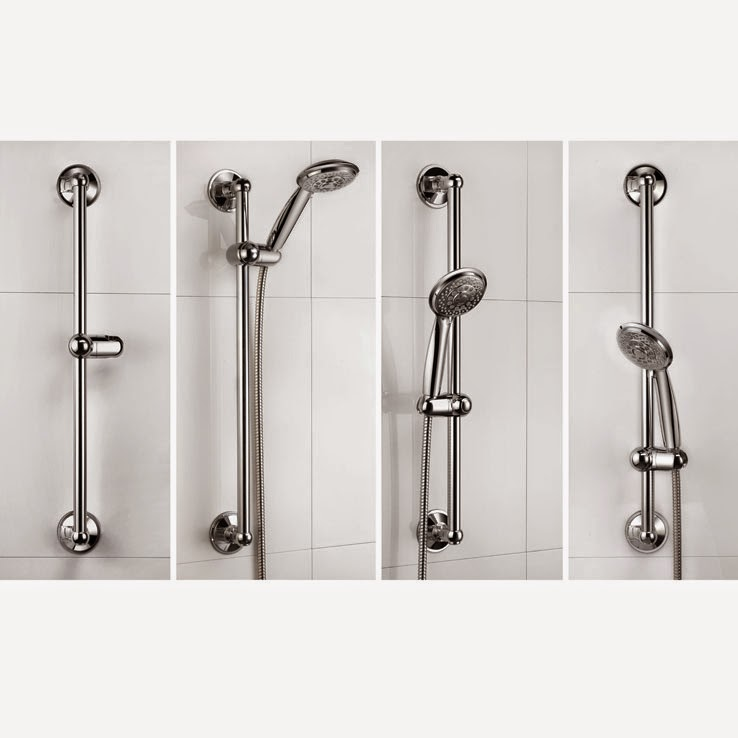 No Drilling Required This Shower Bar Is Held In Place With Suction Cups I Have Had Some Issues The Releasing