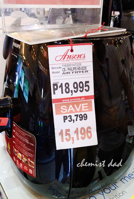 Appliance expo, Anson's, Appliances, Trinoma, air fryer, philips