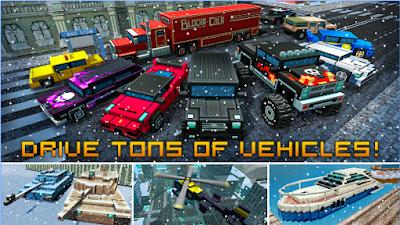 Block City Wars + skins export Mod Apk
