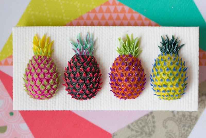 Miniature Food Sculptures by Stephanie Kilgast from Vannes, France.