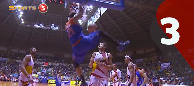 PBA Top 10 DUNKS of the Governors' Cup 2016 (VIDEO)