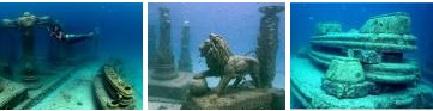 Penampakan Makam Dasar Laut Seperti Atalantis