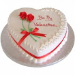 Heart Shape Cake surat