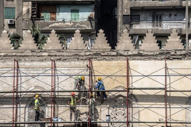 Egypt struggles to restore Cairo's historic heart