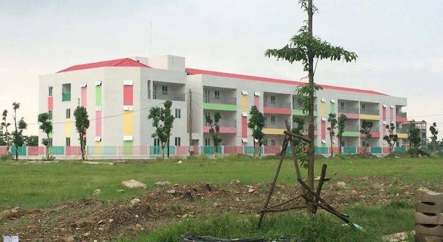 Trường mầm non phục vụ cho cư dân Thanh Hà bắt đầu mở cửa vào tháng 9/2017