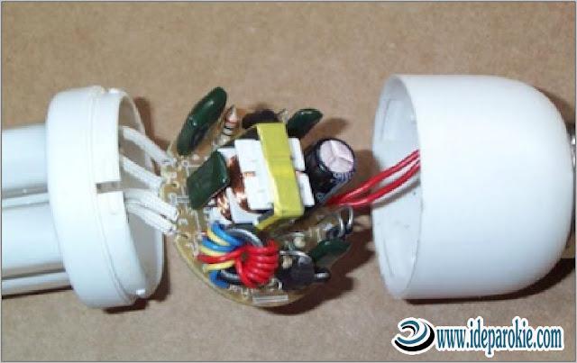 Memperbaiki Lampu Hemat Energi (LHE) yang Mati Atau Rusak