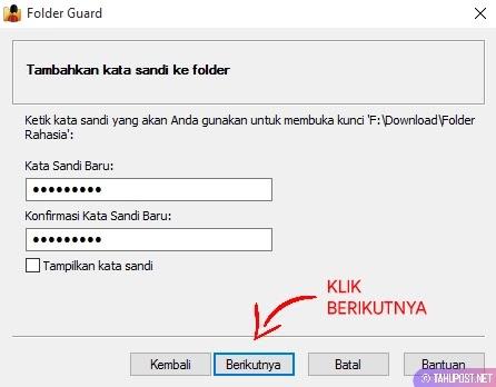 Atur Password untuk Folder di Windows 10