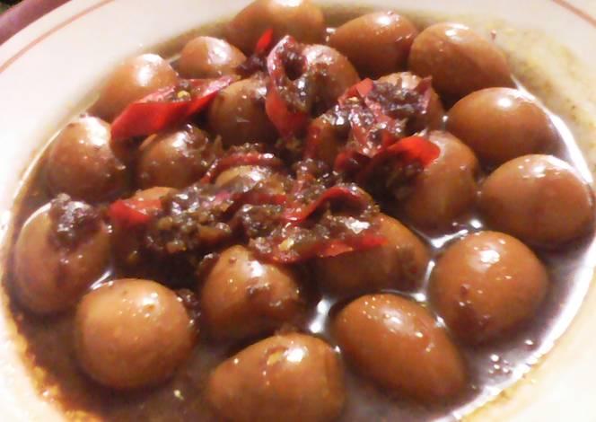 Masakan Telur Puyuh Kecap Lezat Sederhana, Cocok Untuk Keluarga