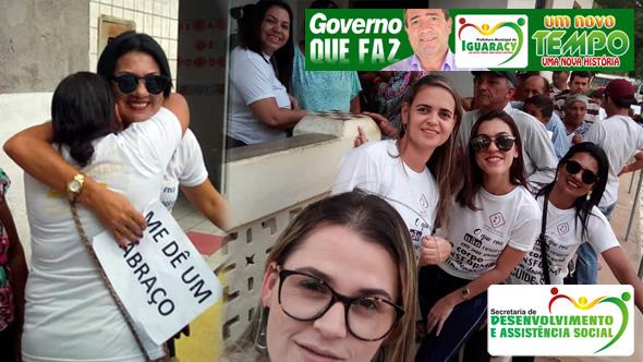 GOVERNO MUNICIPAL: Secretaria de Assistência Social participou da Campanha Janeiro Branco em Iguaracy