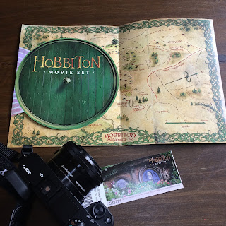 Hobbiton Maps and Sony Camera a6000