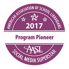 AASL Social Media Superstar Recipient