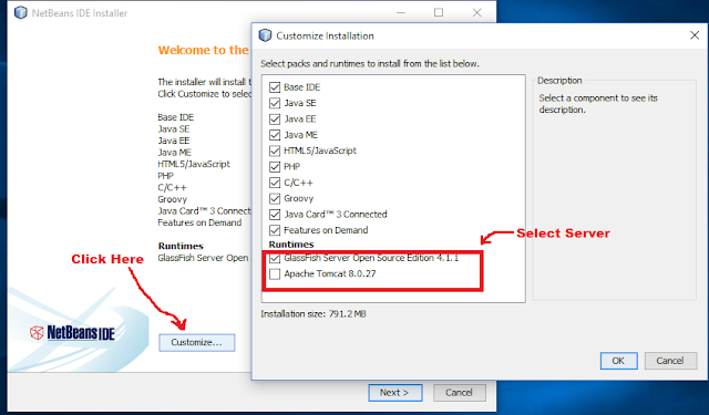 java-bean-select-web-server-installation