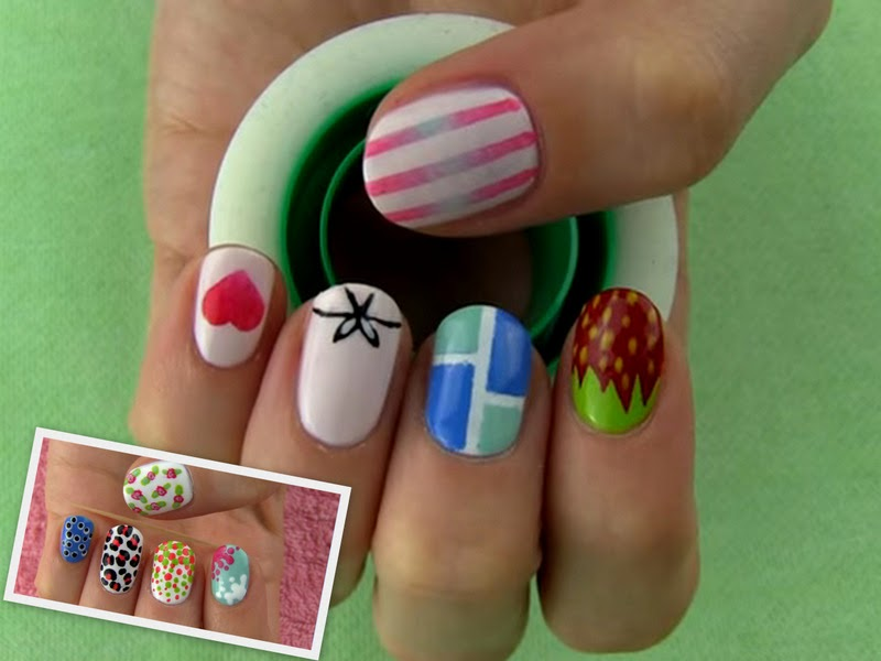 Video Of The Week: Toothpick And Tape Nailart
