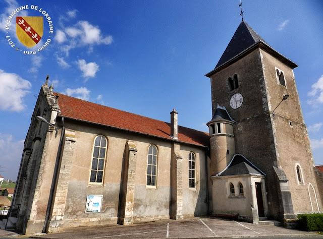 JEANDELAINCOURT (54) - Eglise Sainte-Lucie